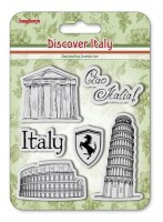 Set of stamps 10,5*10,5cm Discover Italy. Italy SCB4904013b