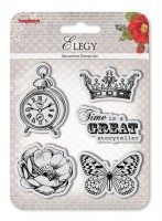 Set of Clear Stamps (10,5*10,5cm) Elegy – Storyteller