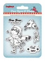 Set of stamps 10,5*10,5см Once Upon a Winter - 1