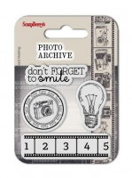 Set of clear stamps (7*7cm) Photo Archive – Smile
