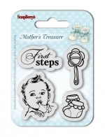 Set of Clear Stamps (7*7cm) Mother's Treasure – First Steps