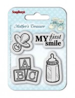 Set of Clear Stamps (7*7cm) Mother's Treasure – First Smile
