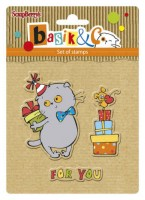 Basik's New Adventure Set of stamps (10.5*10.5cm) - Basik's Party 1