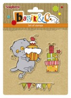 Basik's New Adventure Set of stamps (10.5*10.5cm) - Basik's Party 2