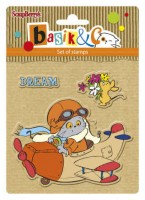 Basik's New Adventure Set of stamps (10.5*10.5cm) - Let's Fly