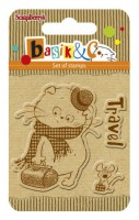 Basik's New Adventure Set of stamps (7*7cm) - Basik's Trip