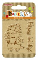 Basik's New Adventure Set of stamps (7*7cm) - Happy Holiday