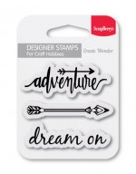 Set of clear stamps (7*7cm) - Dream On