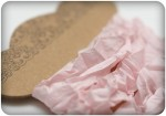 Shabby ribbon, light pink, 10mm, 1m